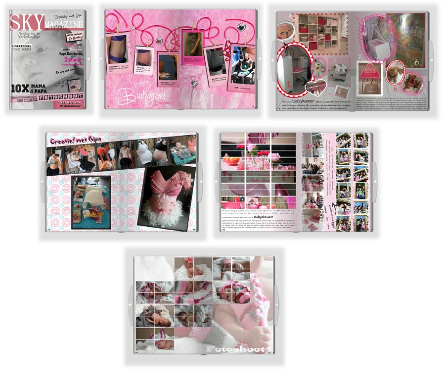 Tips Fotoboek Zwangerschap Maak Je Eigen Baby Magazine Mamas