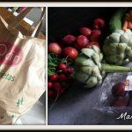 Bio groente en fruit tas