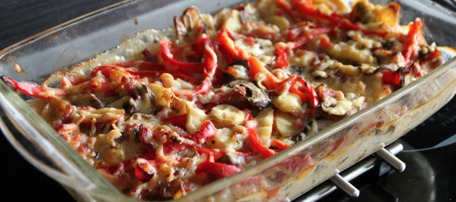 Maak een gezonde variatie van aardappel anders saus