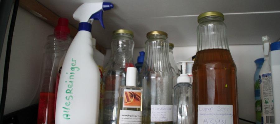 5 makkelijke & onmisbare schoonmaakrecepten