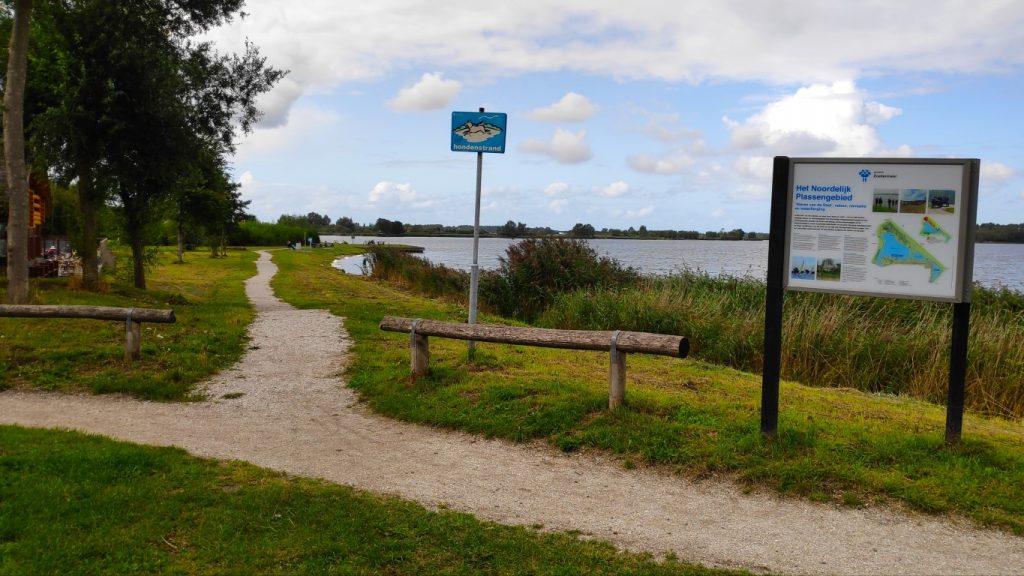 hondenspeelplekken in Zoetermeer; hondenstrandje Noord A Zoetermeer