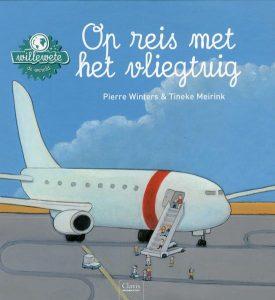 kinderboeken over reizen en voertuigen; vliegtuig