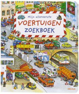 kinderboeken over reizen en voertuigen; zoekboek