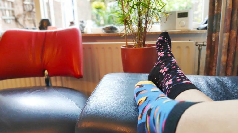 happy socks; twee verschillende