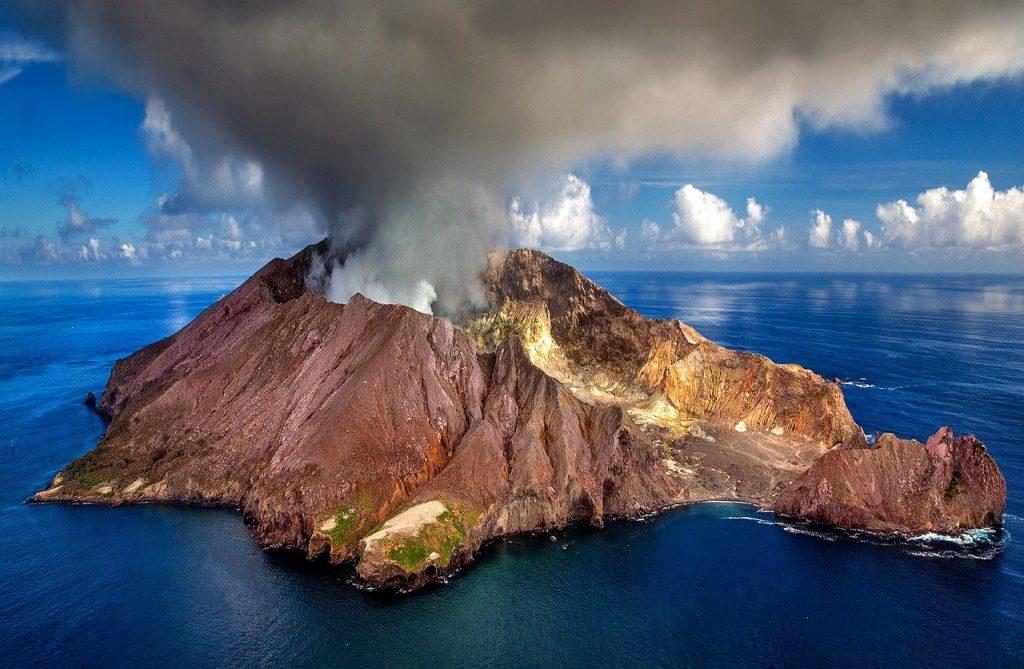 vulkaan rook